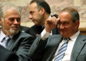 Με τον τ. Πρωθυπουργό Κώστα Καραμανλή