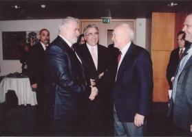 Με τον Πρόεδρο της Δημοκρατίας Κάρολο Παπούλια