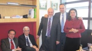 Με τους συναδέλφους Έλληνες ευρωβουλευτές_1