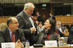 Με τους συναδέλφους Έλληνες ευρωβουλευτές_2