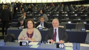 Με τους συναδέλφους Έλληνες ευρωβουλευτές_3