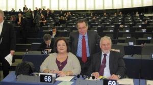 Με τους συναδέλφους Έλληνες ευρωβουλευτές_4