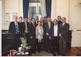 Με τα μέλη της ΔΑΚΕ στο ΔΣ της ΓΣΕΕ