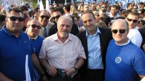 Προεκλογική ομιλία Κ. Καραμανλή στο Λαύριο (09/2009)