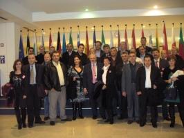 Με συνεργάτες στο Ευρωκοινοβούλιο (Ιουν.'10)