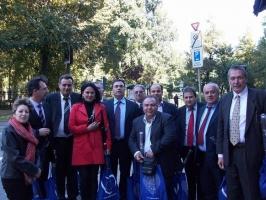 Επίσκεψη στο Ευρωκοινοβούλιο (Οκτ. '09)